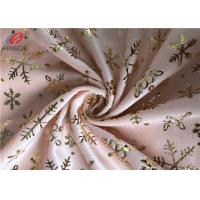 Super Soft Polyester Velvet Fabric Bronzing Printed Velboa Fabric For Upholstery Manufactures