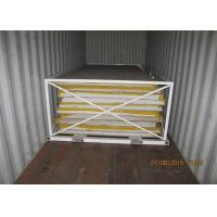 China Light weight Refrigerated Food Truck Insulated CKD Panels Fixing On Truck Chassis on sale