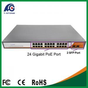 Industrial poe 24-port gigabit ethernet switch Manufactures