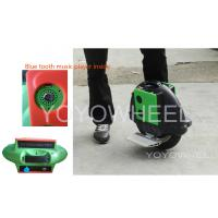 China Black Self Balancing Electric Scooter with bluetooth controller / music player on sale