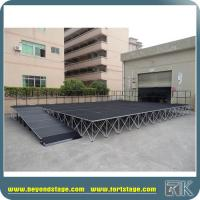 China Mobile Stage Platform for Wedding/Trade Show/Exhibition/Activities Different Height Rises Strong Support Performance on sale