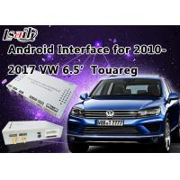 Android 6.0 6.5' VW Touareg Android Auto Interface Touch Android Navigation System Manufactures