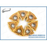 Yellow Coating Tungsten Carbide Inserts For Cutting Limestone Blocks Manufactures