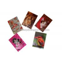 China Small Size Adhesive 3D Lenticular Stickers PET/ PP Printing For Key Chain on sale
