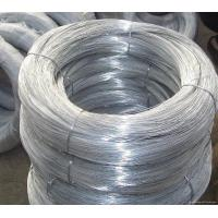 Hot Dipped Galvanized Wire , Galvanised Iron Wire Chain Link Fence Raw Material Manufactures