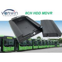 4G GPS Wifi 8ch vehicle DVR / NVR for Taxi School Bus Car Truck solution Manufactures