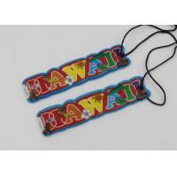 Custom Round Soft PVC Luggage Bag Tags with LED Light for Traveling Manufactures