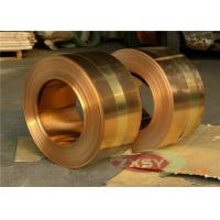 Quality Earthing Copper Strip Thick 0.05mm H70 CDA 14000 Series C7541 C7521 C7701 for sale