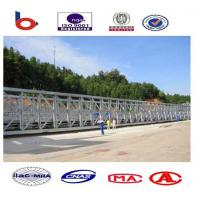 Commercial assembly steel temporary pedestrian bridge High Stiffness Manufactures