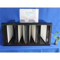 China 3600m3/h HEPA Furnace Filter / HEPA  Filtration System With Large Air Flow on sale