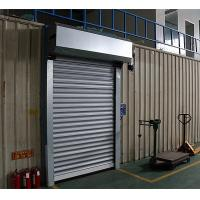 Electric Roller Garage Doors 304 Stainless Steel Frame Closing Speed 0.2m/s Manufactures
