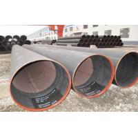 Hydraulic Fluid Round ERW Welded Tube , SCH X52 Welded Steel Pipe 6.35 ~ 50mm Manufactures