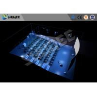 Hydraulic 4D Cinema 5D 6D 7D  Imax Movie Theater Equipment With Dynamic Seats Manufactures