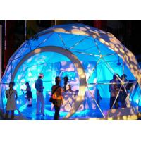 Outdoor Durable Geodesic Dome Tent Aluminum Frame Prefab Dome House Manufactures