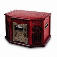China Nostalgic Wooden Music Center with Function of CD Recorder and High-quality Sound Effect on sale