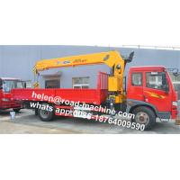 Xcmg 3.5t Mini 7.6m Span Truck-Mounted Crane With Telescopic Boom SQ3.2SK1Q Manufactures