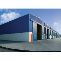 China Modern Steel Frame Storage Buildings Non Combustible 50mm -150mm Thickness on sale