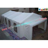 China Big PVC Tarpaulin Inflatable Party Tent , Commercial Inflatable Outdoor Wedding Tent on sale