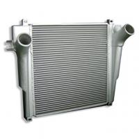 China Automobile Charge Air Cooler Finned Tube Heat Exchanger / Bar and Plate Structure Aluminum  on sale