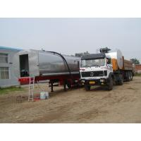 Asphalt Emulsion PMB Transport Tanker With Agitators And Heating Tubes Manufactures