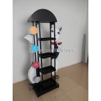 China Eyecatching Wine Display Rack Metal Grape Wine Commercial Wine Floor Standing Rack on sale