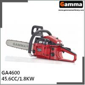 China chainsaw 4600, gasonline chain saw, Oregan guide bar, 45.6cc displacement on sale