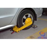 China A3 Steel Yellow / Red Reliable Car Wheel Clamp , Portable Vehicle Wheel Lock on sale