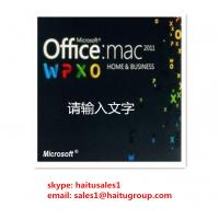 Office 2011 Home And Business MAC FPP Key For Microsoft Office Product Key Codes Online Activation Manufactures