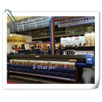0.5 Feet 126 Inch Large Format Solvent Printer With DX7 Print Head CMYK For Flex Banner Manufactures