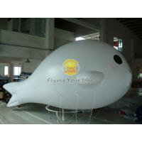 White Versatile Custom Sea Lion Shaped Balloons with 0.15mm PVC Material for Party Manufactures