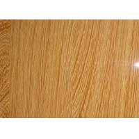 China Textured Pattern Pvc Film Interior Colored Laminating Film For MDF Skin on sale