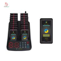 China China export new design wireless touch keyboard token display queue call system for restaurant on sale