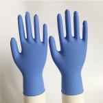 Violet blue 3.0g/3.5g/4.0g/4.5g/5.0g texfured finger Disposable Nitrile Gloves XS, S,M,L,XL,XXL industry/medical use Manufactures