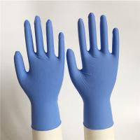 Violet blue 3.0g/3.5g/4.0g/4.5g/5.0g texfured finger Disposable Nitrile Gloves XS, S,M,L,XL,XXL industry/medical use Manufactures