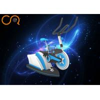 Bike Shape Virtual Reality Sports Simulators With 1290*1080 Resolution Manufactures