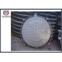 Public Use Ductile Iron Pipe Fittings Manhole Cover With Frames En124 Design Manufactures
