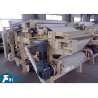 Quality Industrial Belt Filter Press Machine Continuous Work Type For Sludge Dewatering for sale
