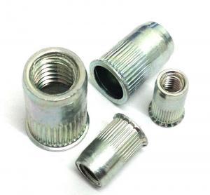 China 304 Flat Head Threaded Rivet Nut Insert Nutsert Rivet Nut Assortment Kit M3 M4 M5 M6 M8 M10 on sale