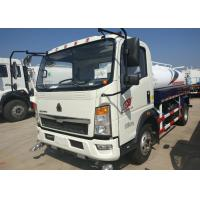 5 - 8CBM Water Tanker Truck With Light Truck Chassis LHD Steering 90km/H Max Speed Manufactures