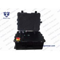 Military Waterproof Vehicle Bomb Jammer Full Band Frequency RF GPS Cell Phone Signal Jammer Manufactures