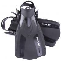 Adjustable Speed Soft Skin Diving Fins For Diving , Snorkeling , Swimming Manufactures