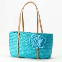 best selling Japan style summer straw bags 80275 Manufactures