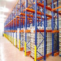 Industrial Warehouse Drive In Racking System High Density Q235 Steel Material Manufactures