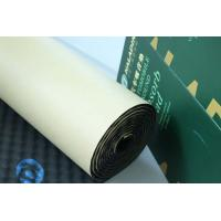 Easy Install Sound Absorption Pad Self - Adhesive 8mm Closed Cell Rubber Foam Manufactures