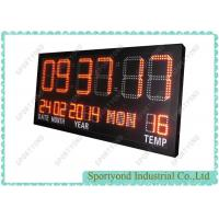 Electronic clock board with temperature led display Manufactures