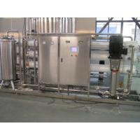 RO UV Pure Water Treatment Line / System 1T-30T For Pharmaceutical Or Industrial Manufactures