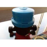 DN20mm Single Jet Residential Water Meter / AMR Water Meter Dry Type Magnetic Drive Manufactures