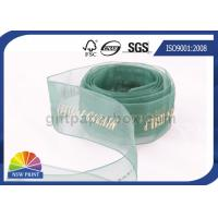 Sheer Packaging gift wrap Organza ribbon for Wedding Florist Corporate Manufactures