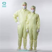 Buy cheap ESD Anti Static Workwear Clothing , Anti Static Overalls For XS - XXXL Size from wholesalers