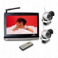 Wireless CCTV Cameras with 380TVL Clear Picture Display and Weather-proof Design Manufactures